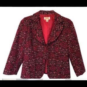 Talbots Woman brocade Blazer Jacket. Size 16W